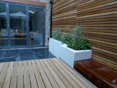 Decking dulwich decking wooden garden decking dulwich for Garden decking for sale